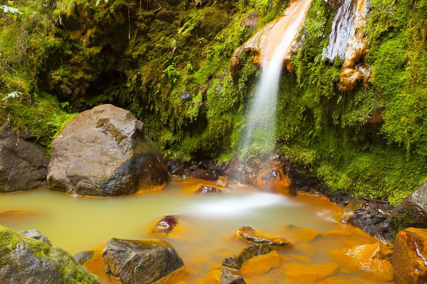 Caldeira Velha - São Miguel - Açores, Portugal