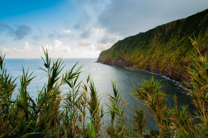Ausblick in the Azores, Portugal