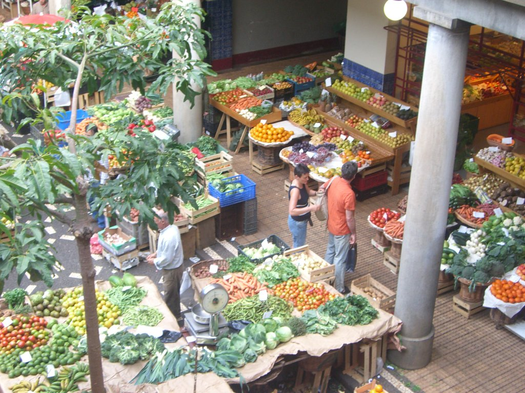 Funchal food Market, Portugal