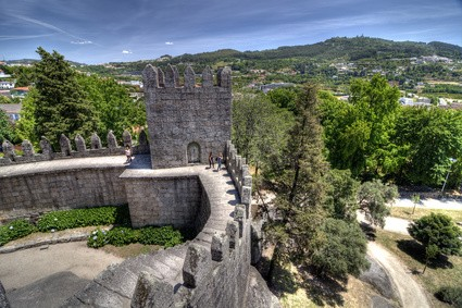 Guimares Castle, North Portugal