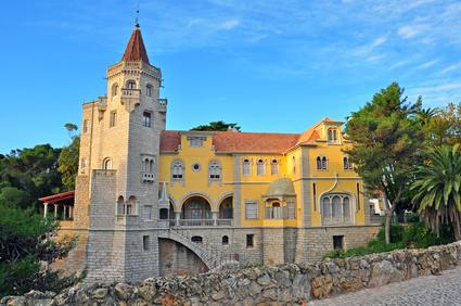 Cascais palace, Portugal