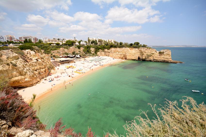 Praia da Senhora da Rocha - Beach near Lagoa Algarve Portugal