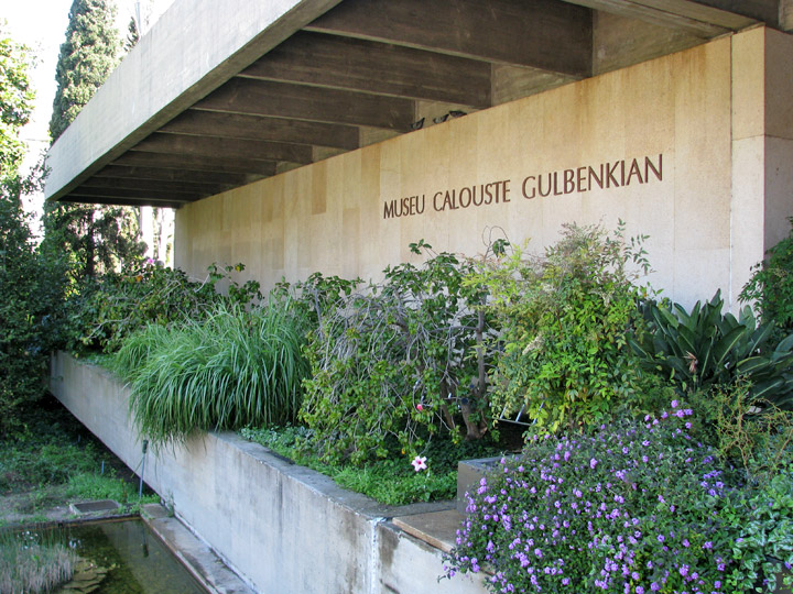 The Gulbenkian museum in Lisbon