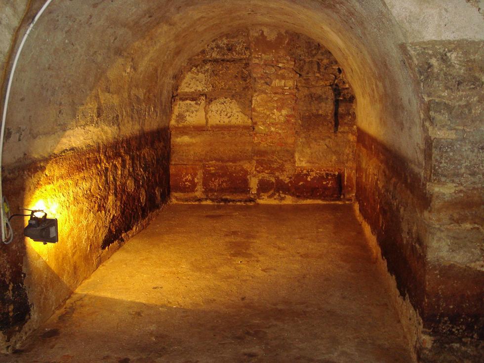 Roman galleries of Prata Street, Lisbon